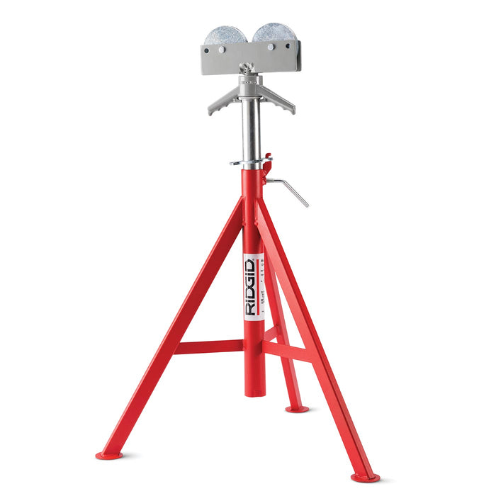 Roller Head Pipe Stand (High)