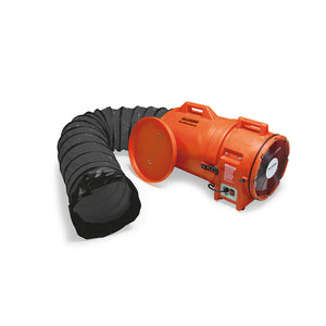 12″ Axial Explosion-Proof (EX) Plastic Blower w/ Canister & Ducting