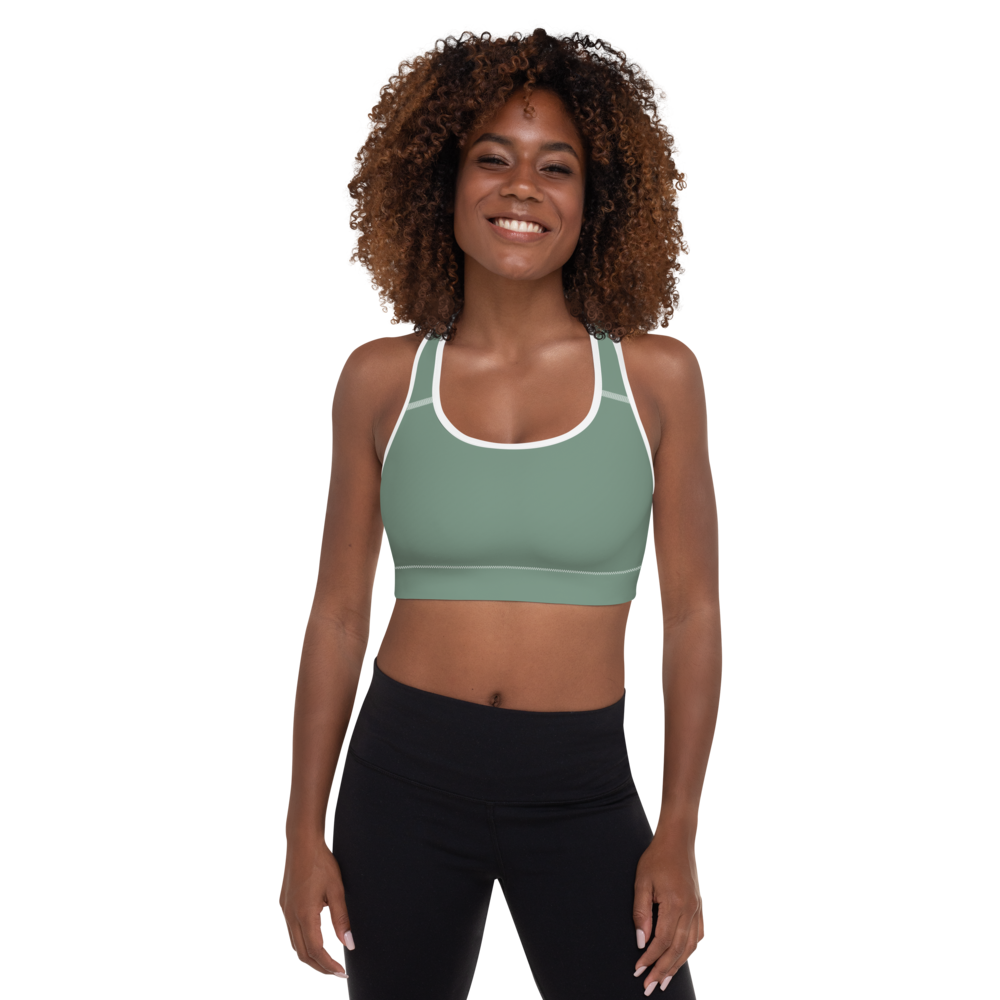 Auckland women padded sports bra - AVENUE FALLS