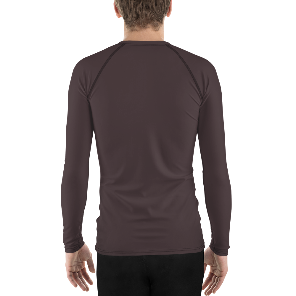 Bordeaux men rash guard