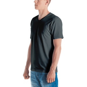 Delhi men v-neck t-shirt - AVENUE FALLS
