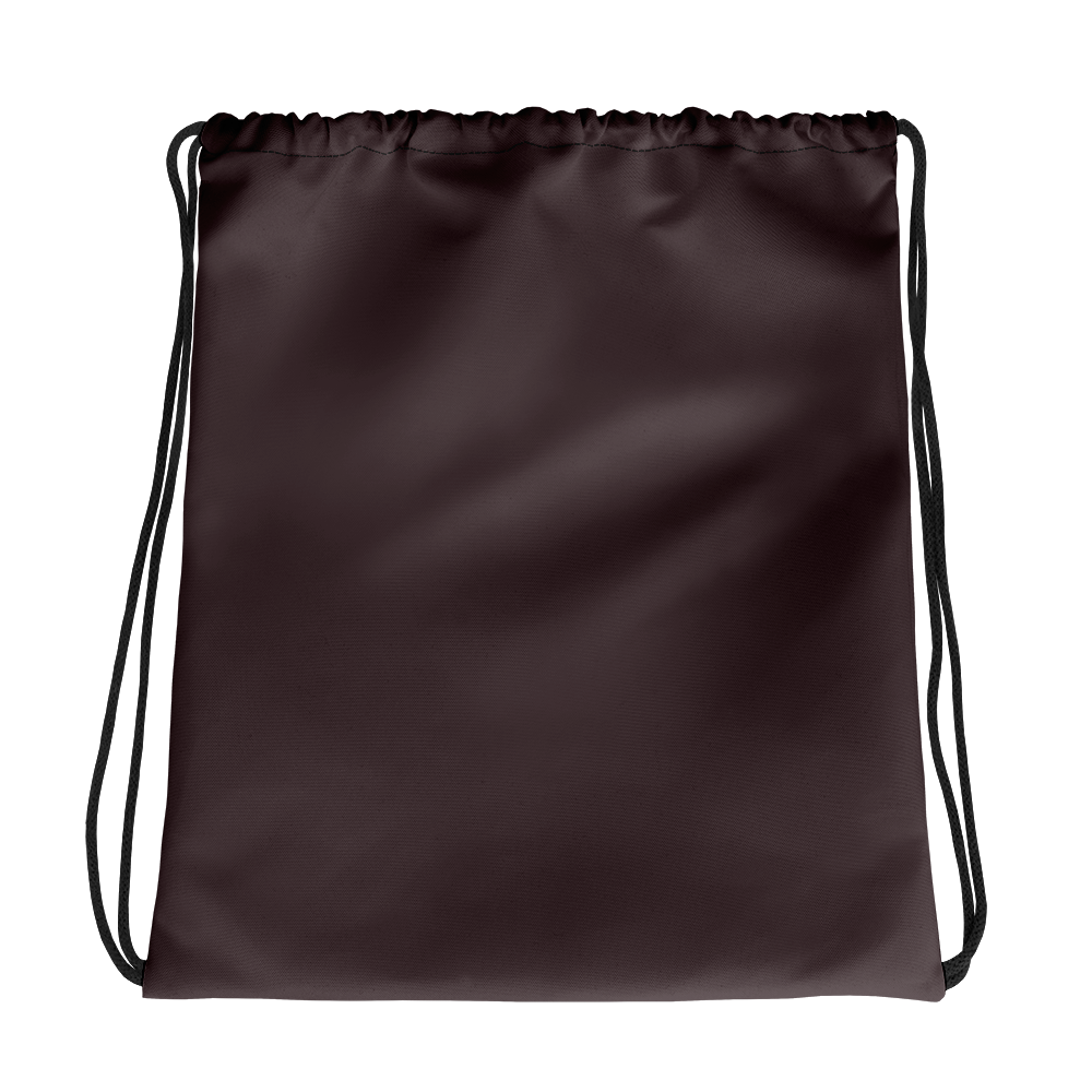 Bordeaux drawstring bag