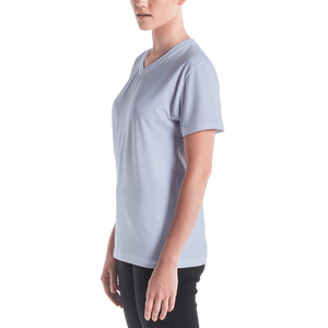 Abu Dhabi women v-neck t-shirt - AVENUE FALLS