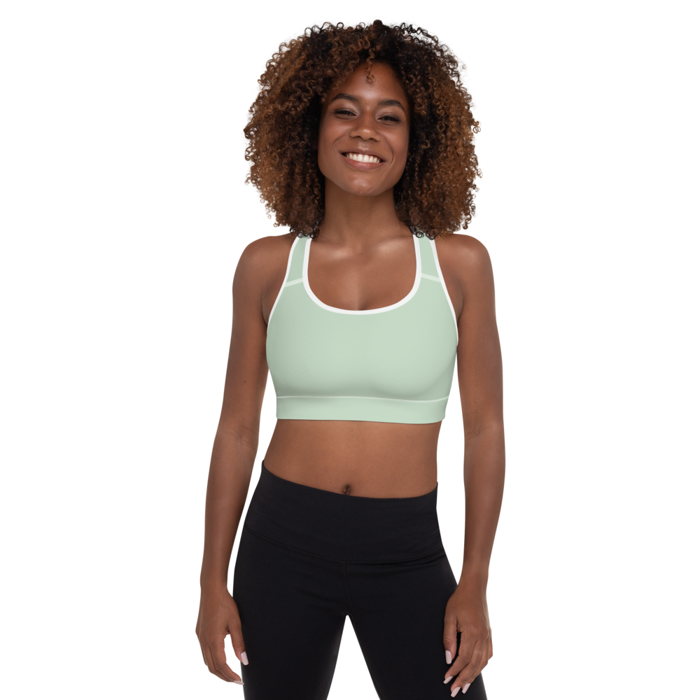 Bakersfield women padded sports bra