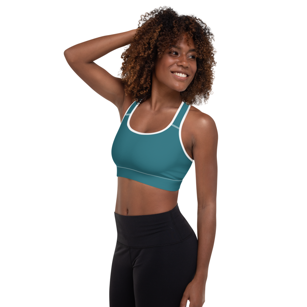 Atlanta women padded sports bra - AVENUE FALLS