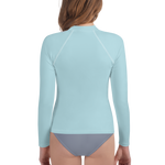 Florence Youth Girl Rash Guard - AVENUE FALLS