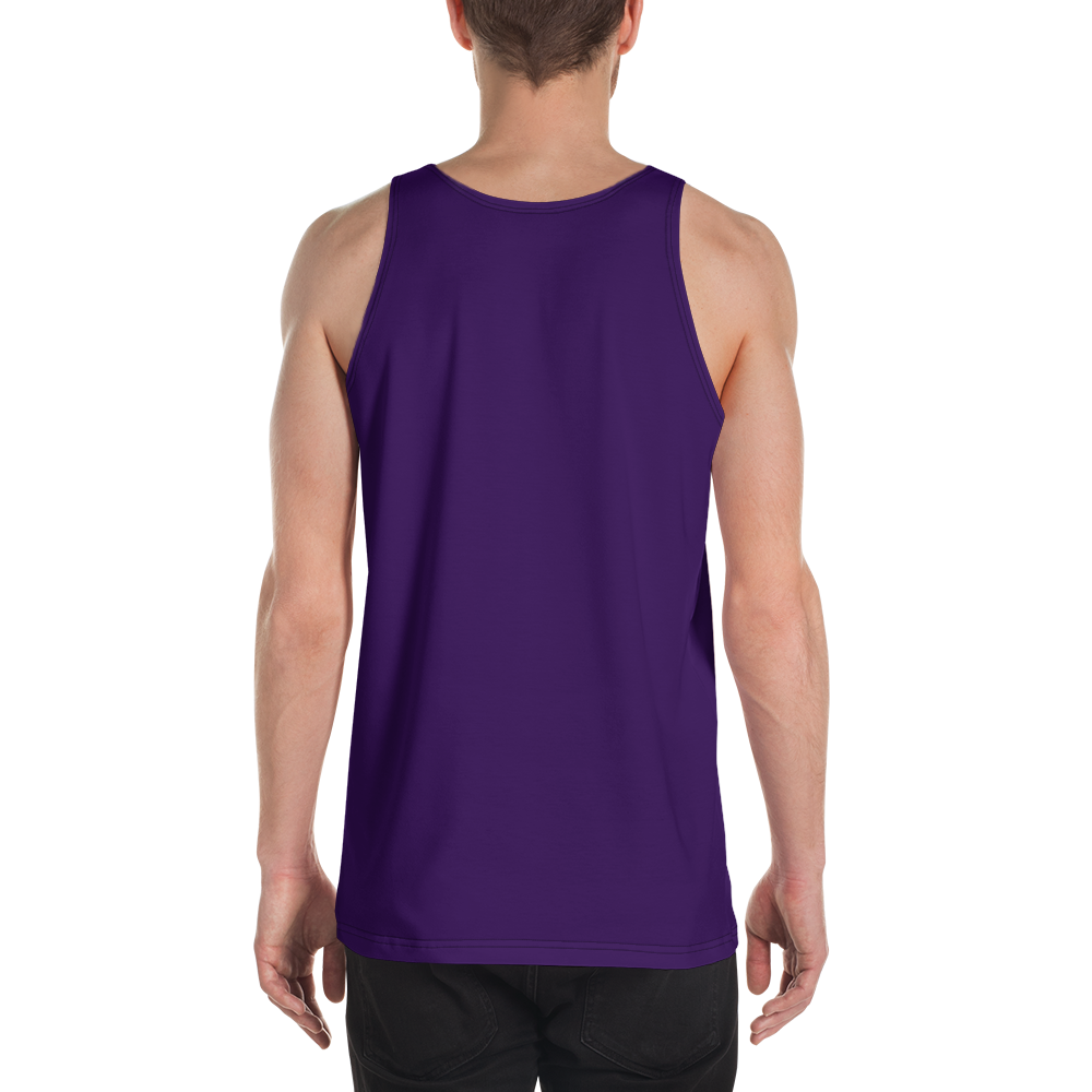 Ankara men tank top - AVENUE FALLS