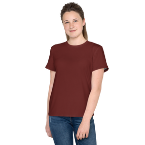 Aberdeen youth girl crew neck t-shirt - AVENUE FALLS