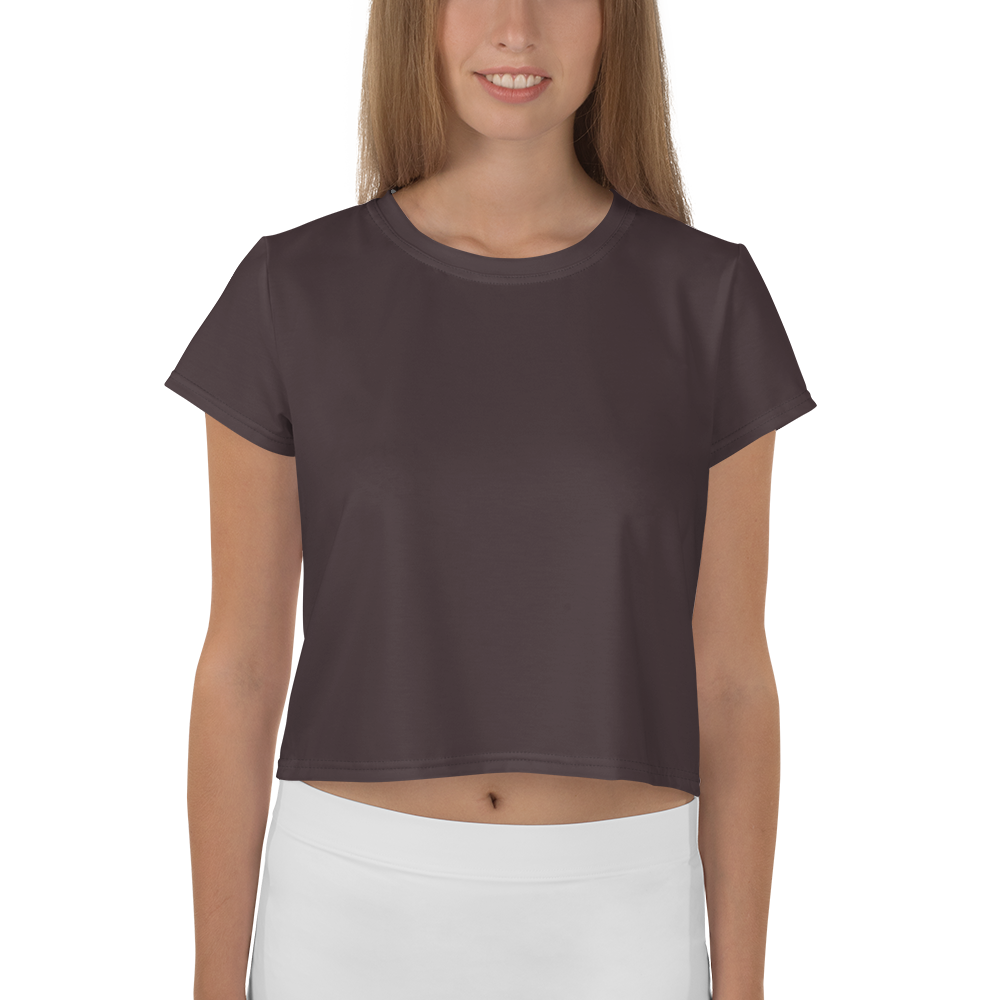 Bordeaux women crop tee