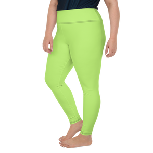 Abidjan women plus size leggings - AVENUE FALLS