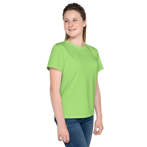 Alexandria youth girl crew neck t-shirt - AVENUE FALLS