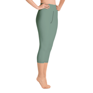 Auckland women yoga capri leggings - AVENUE FALLS