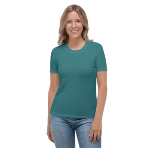 Adelaide women crew neck t-shirt - AVENUE FALLS