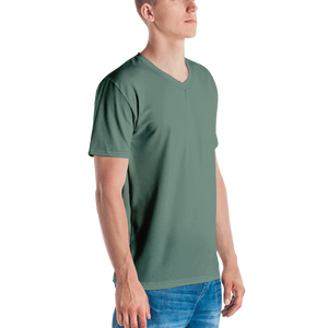 Auckland men v-neck t-shirt - AVENUE FALLS
