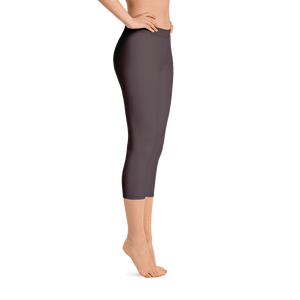 Bordeaux women capri leggings