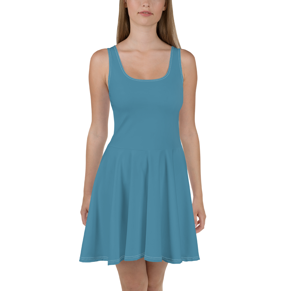 luxembourg Skater Dress - AVENUE FALLS