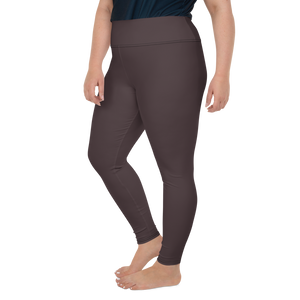 Bordeaux women plus size leggings