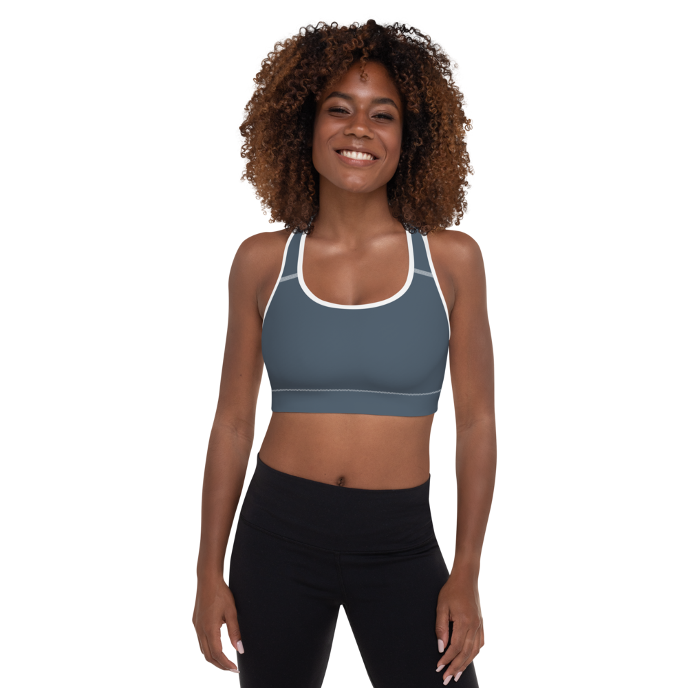 Virginia Beach women padded sports bra - AVENUE FALLS