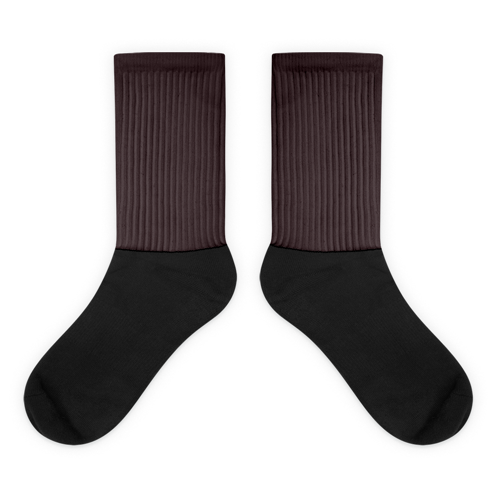 Bordeaux socks