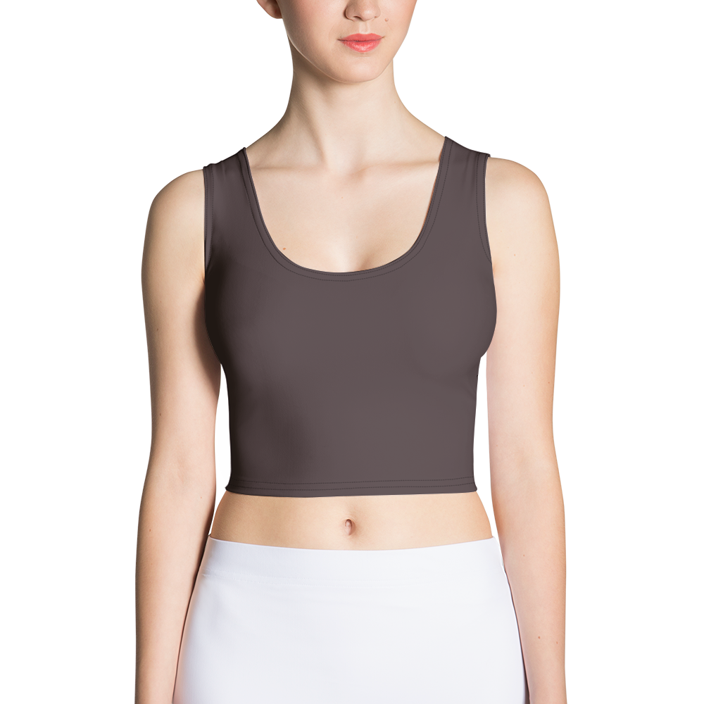 Bordeaux women crop top