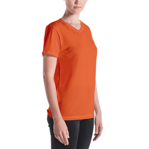 Addis Ababa women v-neck t-shirt - AVENUE FALLS