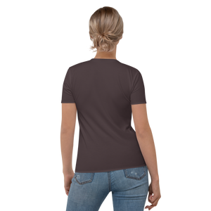 Bordeaux women crew neck t-shirt