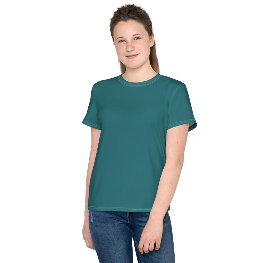 Adelaide youth girl crew neck t-shirt - AVENUE FALLS