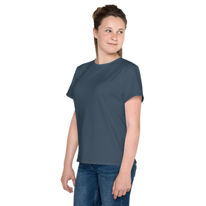 Virginia Beach youth girl crew neck t-shirt - AVENUE FALLS