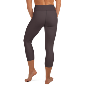 Bordeaux women yoga capri leggings