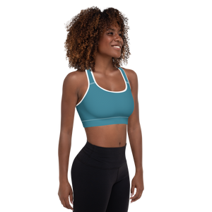 Barcelona women padded sports bra - AVENUE FALLS