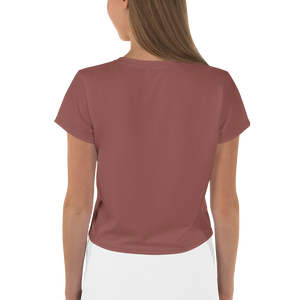 Jerusalem women crop tee - AVENUE FALLS