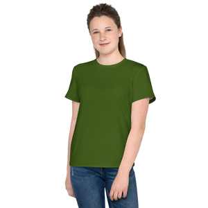 Albany youth girl crew neck t-shirt - AVENUE FALLS
