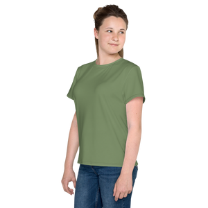 Akron youth girl crew neck t-shirt - AVENUE FALLS