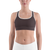 Bordeaux women sports bra