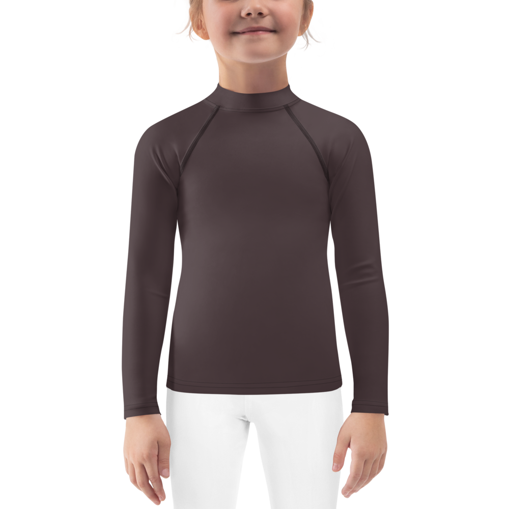 Bordeaux kids girl rash guard