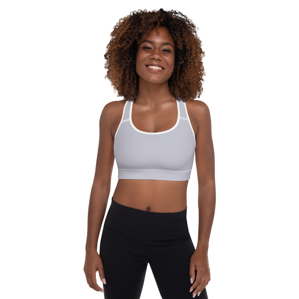 Baghdad women padded sports bra - AVENUE FALLS