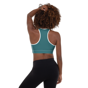 Washington, DC women padded sports bra - AVENUE FALLS