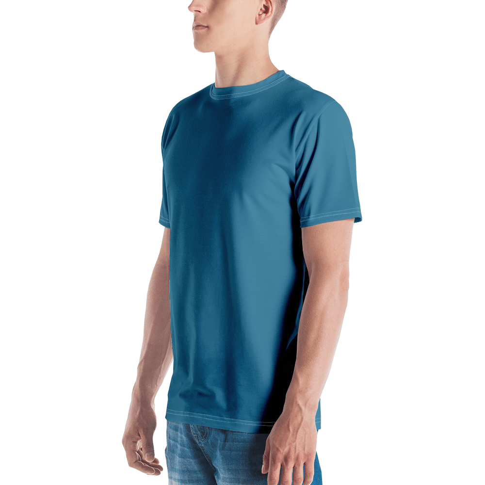 Luxembourg Men's Crew Neck T-Shirt - AVENUE FALLS