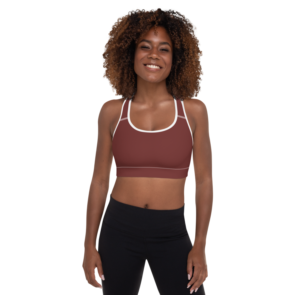 Aberdeen women padded sports bra - AVENUE FALLS
