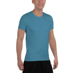 Luxembourg Men's Athletic T-shirt - AVENUE FALLS