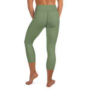 Akron women yoga capri leggings - AVENUE FALLS