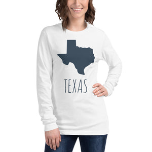 Texas Women Long Sleeve Tee