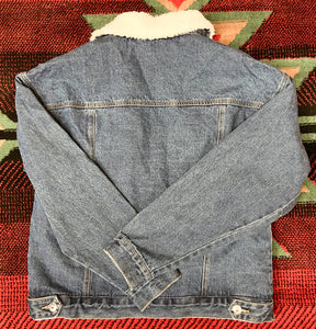 Vintage Winter Denim Jacket