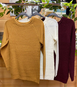 Autumn Amber Sweater