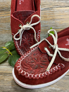 Tooled Moccasins