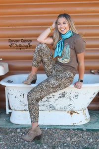 Chic Cheetah Joggers