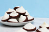 Chocolate Dipped Vegan Meringues