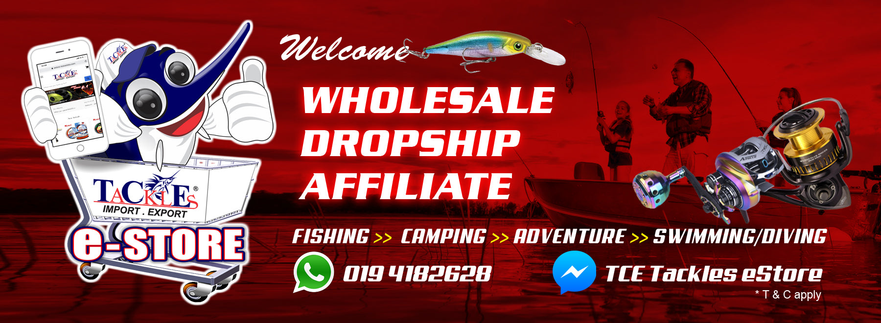 The Most Complete Fishing Tackle Online Store — Tce Tackles