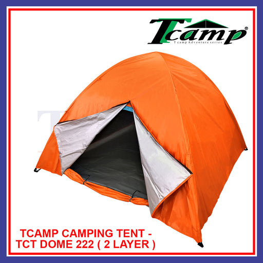 Tcamp Camping Tent-TCT DOME 222 (2 Layer)