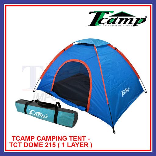 Tcamp Camping Tent-TCT DOME 215 (1 Layer)